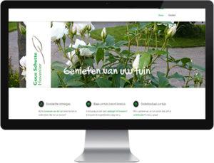 Duurzame website hovenier